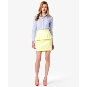 NEW Pastel Peplum Skirt