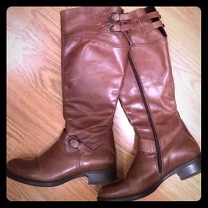 Aldo leather riding boots!