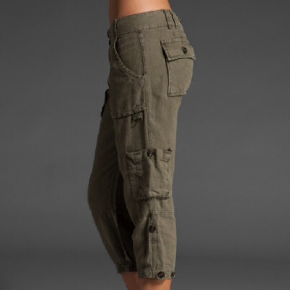 53% off Sanctuary Pants - Sanctuary Getaway Cargo Capri from ...