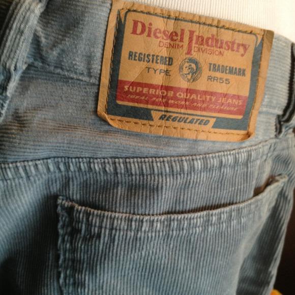 91% off Diesel Pants - DIESEL CORDUROY PANTS from ! ana's closet ...
