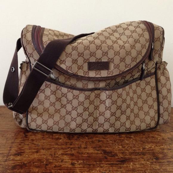 76fb5cb4277 Gucci Bags | Authentic Diaper Bag | Poshmark