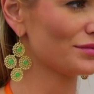 Stella & Dot Garden Party Statement Earrings