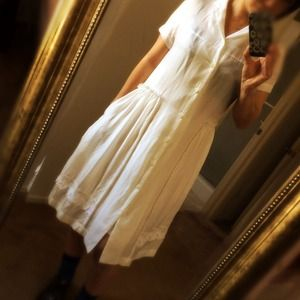 Comme des Garcons Dresses & Skirts - HP🎉CDG tricot White dress!