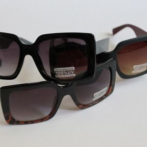 Rectangle Jackie O' Sunglasses