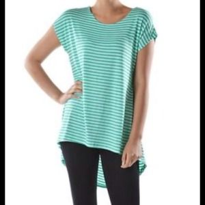Tops - BEAUTIFUL HIGH/LOW STRIPED TOP! 💗