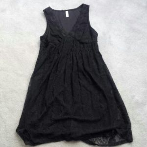 exhilaration Dresses & Skirts - Black lace dress