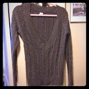 Old Navy Sweaters - Old Navy Perfect Fit Charcoal Grey Sweater SOLD!