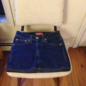 Levis Denim Mini Skirt