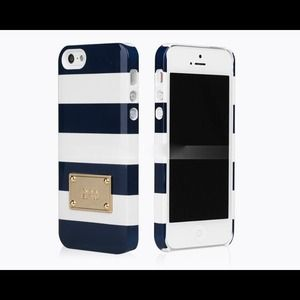Michael Kors Accessories - Michael Kors Blue White iPhone 5, 5S Case
