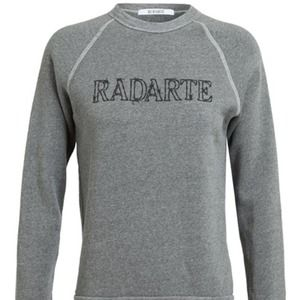 Rodarte Sweaters - HP! 🎉 Rodarte barbed wire grey sweatshirt