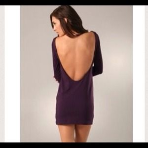 Thayer Allende Dresses & Skirts - Purple backless dress