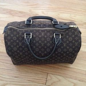 Louis Vuitton Speedy 30 Mini Lin Ebene