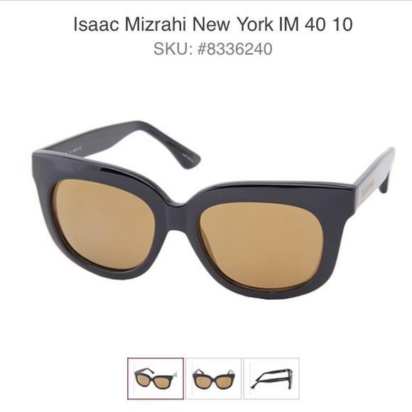 ec7399ac17 2 pair Isaac Mizrahi black sunglass j crew bundle