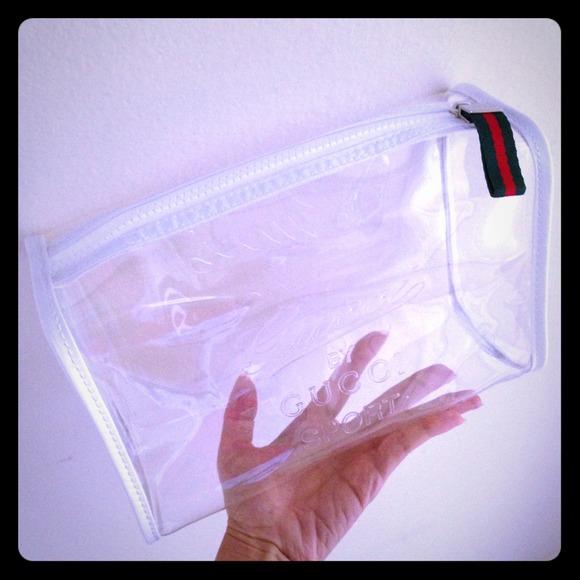 0c3ed81d1 Gucci Sport clear makeup bag large travel clutch. M_533da0b8b539e409d5070ced