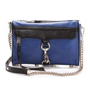 Rebecca Minkoff Handbags - Rebecca Minkoff two toned Mac bag!
