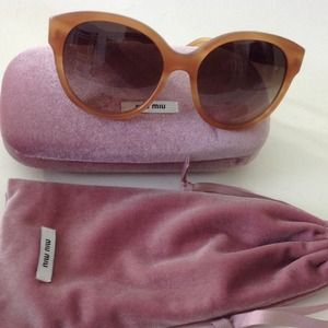 Miu Miu Accessories - 💢SOLD💢 NWOT Authentic Miu Miu Sunglasses