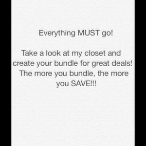 Other - Check out my closet, bundle to save! Shoes, bags!
