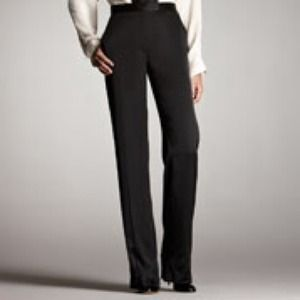 Stella McCartney Black Wide-leg Pants 38/4 NWT