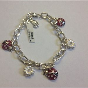 Brighton Lucky Lady Bug Charm Bracelet💐Host Pick