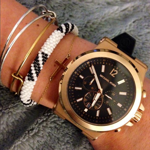 Michael Kors Dylan Gold Oversize Watch 🎉HOST PICK