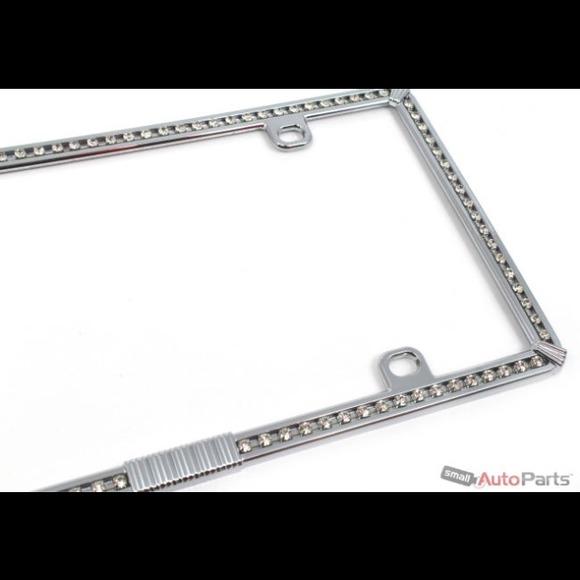 Other | Chrome Diamond Bling License Plate Frame For Car | Poshmark