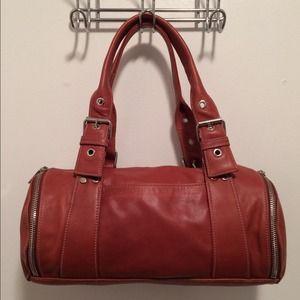 Perlina Handbags - 🛍 Perlina Brown Leather Tote Bag