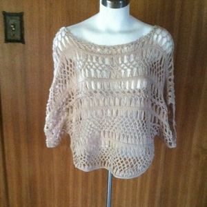 kenar Tops - Cool knit shear sweater top