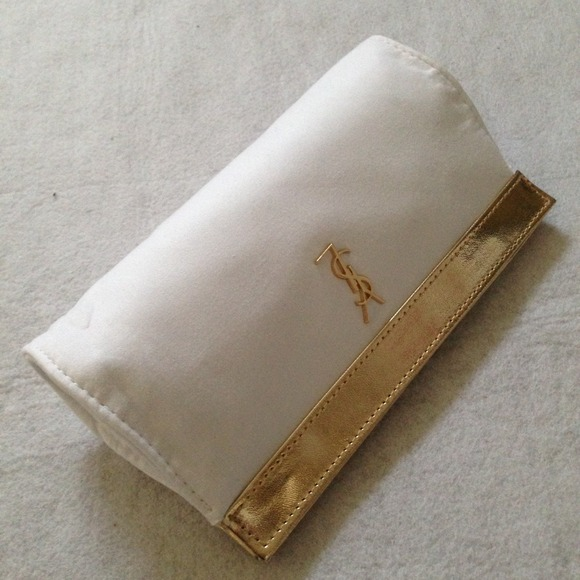 25% off Yves Saint Laurent Clutches \u0026amp; Wallets - YSL small makeup ...