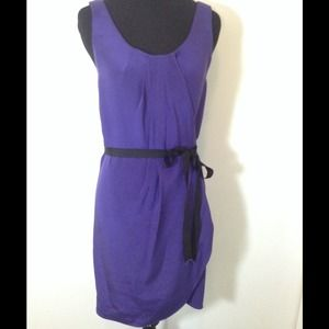 Alexander Wang Purple Silk Wrap Dress  Size 6