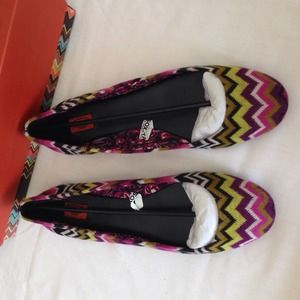 Missoni Shoes - RARE Missoni for Target Flats
