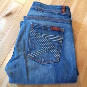 Seven for all mankind Flint denim boot cut 26