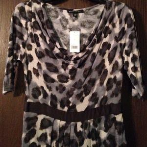 📢REDUCED📢NWT animal print BR dress