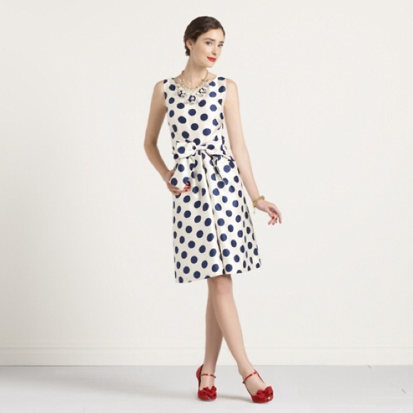0483739bcdbbe kate spade Dresses & Skirts - kate spade new york polka-dot jillian dress