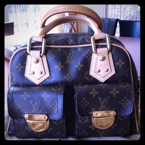Louis Vuitton Handbags - -Authentic Louis Vuitton Manhatten PM-SOLD
