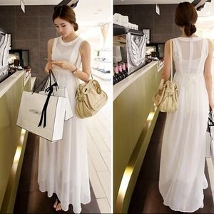 Dresses & Skirts - Beautiful white Korean dress