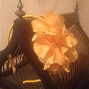 Marigold Flower J.Crew Headband