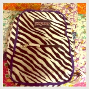 jansport  Handbags - Zebra Jansport back pack