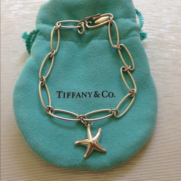 41a88884f 💯Authentic Tiffany Elsa Peretti Starfish Bracelet.  M_53fa31e7b539e475fb0d3e79