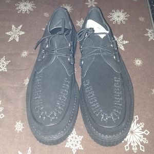 NEVER WORN‼️ Black Creepers