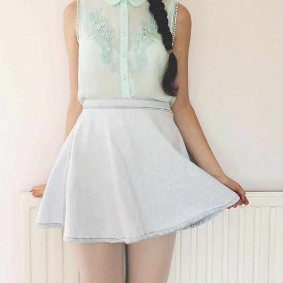 45% off American Apparel Dresses & Skirts - american apparel light ...
