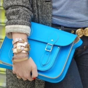 Cambridge Satchel Co  Handbags - Electric blue Cambridge Satchel Co mini satchel