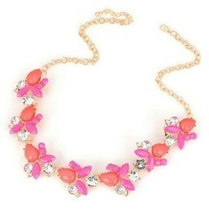 Jewelry - *Sale!* Pink/Dark Coral Spring Vine Necklace