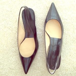 Pointed Zara color blocking flats
