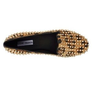 Steve Madden Shoes - Studded Leopard Flats