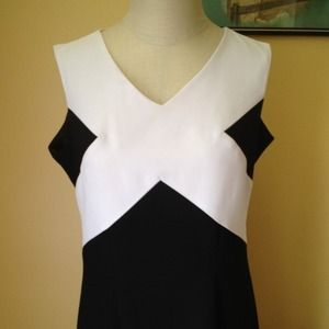 vintage 80's dress - lindsey scott