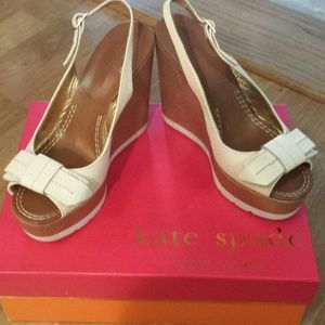 *Kate spade heels cream color
