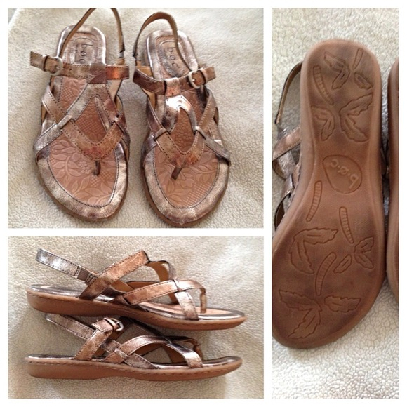 ce220c59a103 BOC Shoes - BOC rose gold and silver sandals size 6 LNWB!