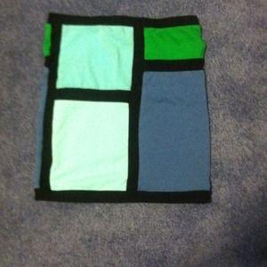 Dresses & Skirts - Color block skirt