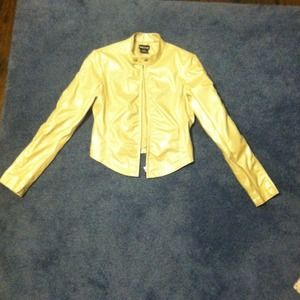 Jackets & Blazers - Metallic jacket