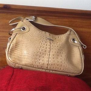 Handbags - Beautiful Charlie Lapson faux snakeskin bag
